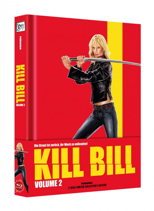 Kill Bill: Vol. 2 - Limited Collector's Edition - Cover B [Blu-ray+DVD]