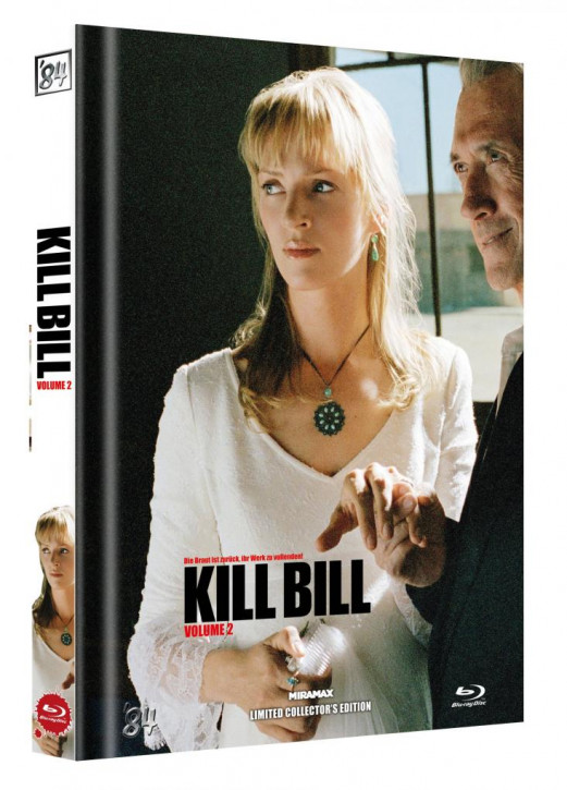 Kill Bill: Vol. 2 - Limited Collector's Edition - Cover D [Blu-ray]