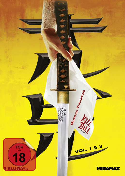 Kill Bill Vol. 1 & 2 - Limited Mediabook - Cover A [Blu-ray]