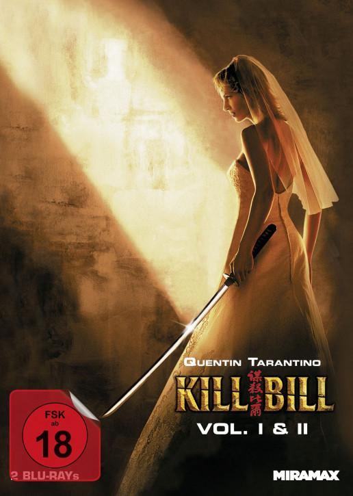 Kill Bill Vol. 1 & 2 - Limited Mediabook - Cover B [Blu-ray]