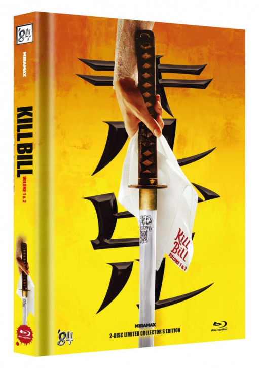 Kill Bill: Vol. 1+2 - Limited Collector's Edition - Cover A [Blu-ray]