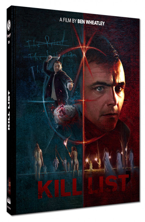 Kill List - Limited Mediabook Edition - Cover A [Blu-ray+DVD]