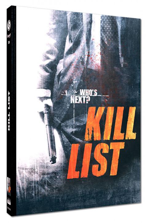 Kill List - Limited Mediabook Edition - Cover C [Blu-ray+DVD]