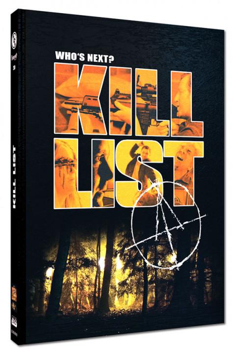 Kill List - Limited Mediabook Edition - Cover D [Blu-ray+DVD]