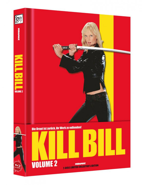 Kill Bill: Vol. 2 - Limited Collector's Edition [Blu-ray+DVD]