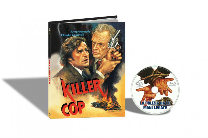 Killer Cop - Limited Mediabook Edition - Cover C [Blu-ray]