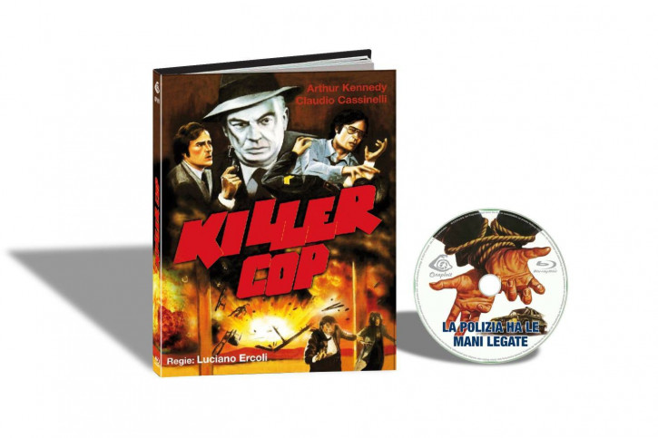 Killer Cop - Limited Mediabook Edition - Cover D [Blu-ray]