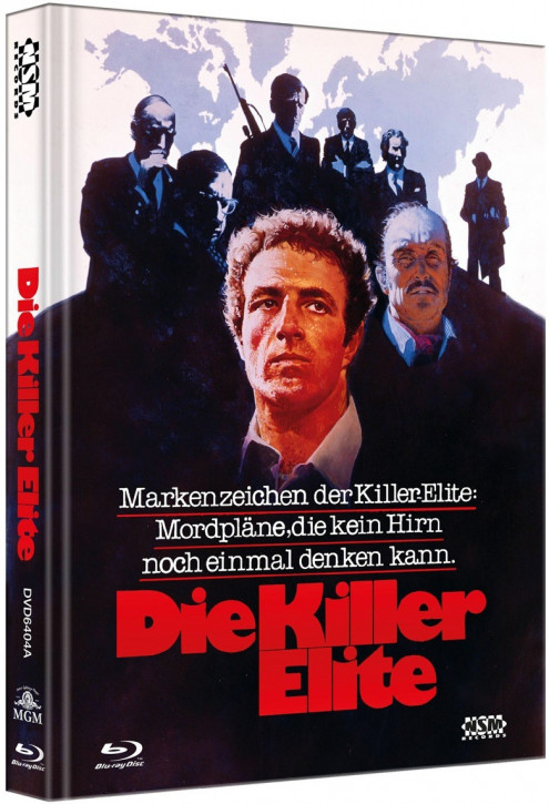 Die Killer Elite - Limited Collector's Edition - Cover A [Bluray+DVD]