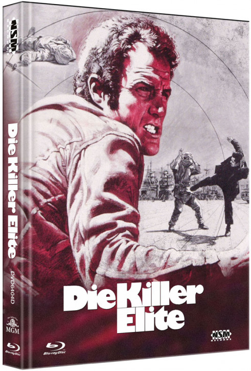 Die Killer Elite - Limited Collector's Edition - Cover D [Bluray+DVD]