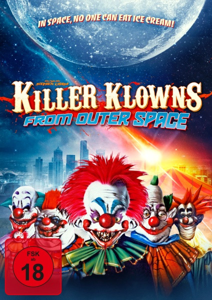 Killer Klowns from Outer Space - Limited Mediabook Edition [Blu-ray+DVD]