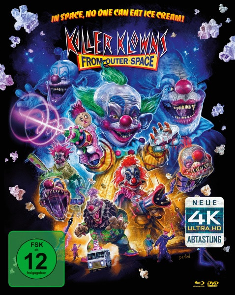 Killer Klowns (Remastered) - Limited Mediabook Edition - Cover B [Blu-ray+DVD]