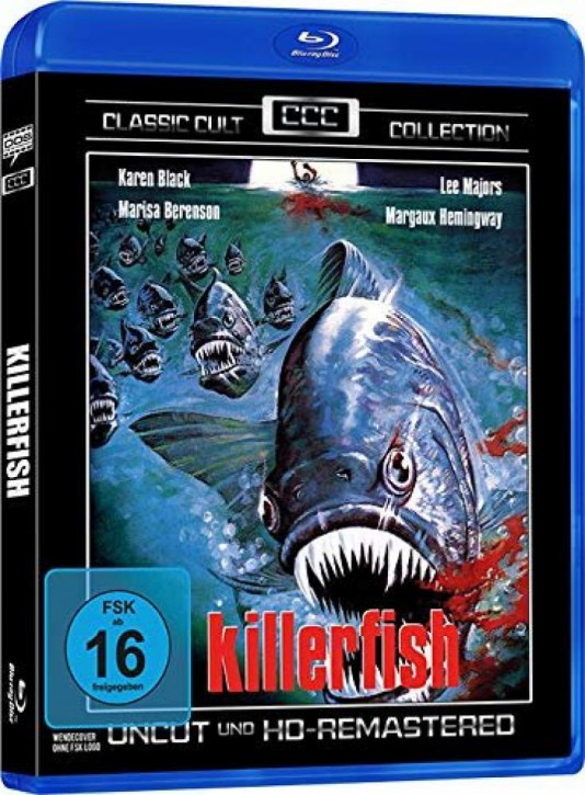 Killerfish - Classic Cult Collection [Blu-ray]