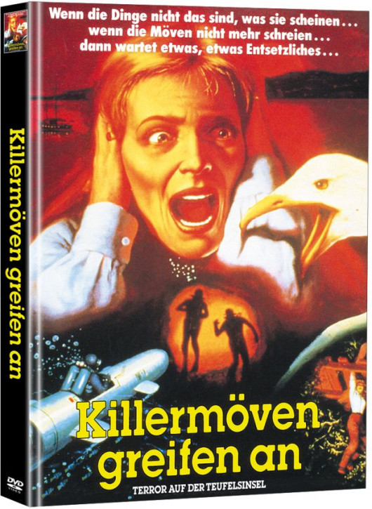Killermöven greifen an - Limited Mediabook Edition (Super Spooky Stories #76) [DVD]