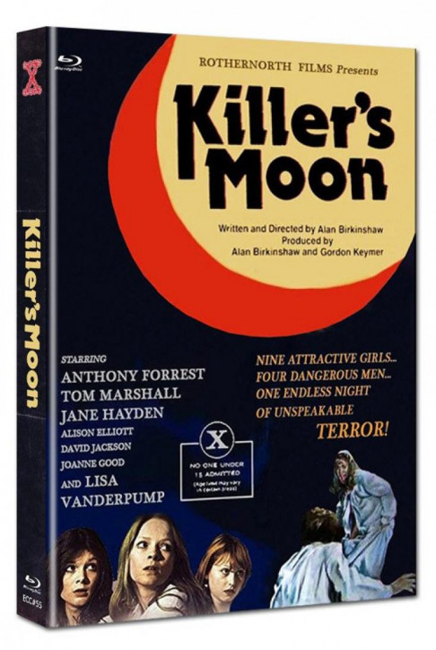 Killers Moon - Euro Cult Collection #55 - Mediabook - Cover C [Blu-ray+DVD]