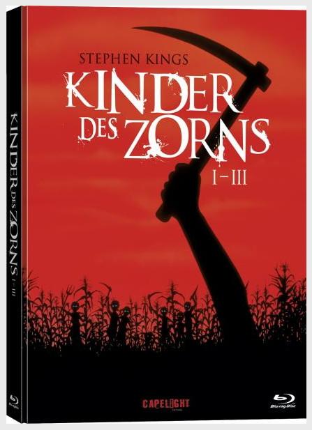 Kinder des Zorns I-III - Mediabook [Blu-ray]