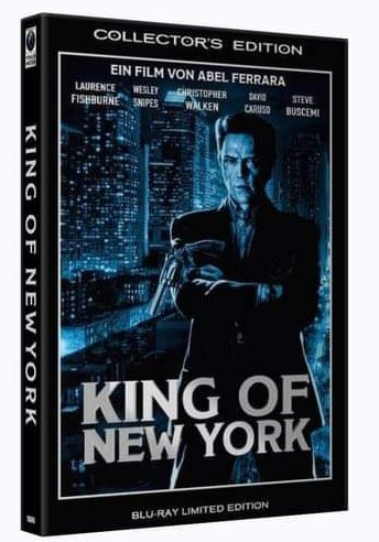 King of New York - grosse Hartbox [Blu-ray]