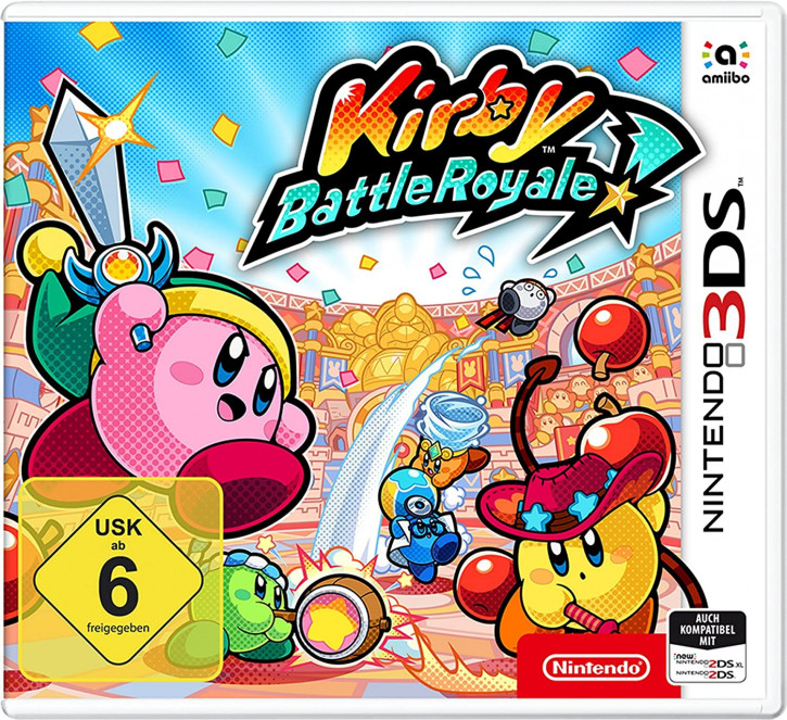 Kirby Battle Royale - [N3DS]