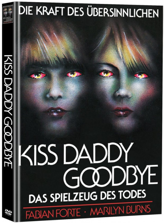 Kiss Daddy Goodbye - Limited Mediabook Edition (Super Spooky Stories #34) [DVD]
