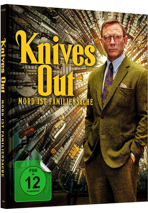 Knives Out - Mord ist Familiensache - Limited Mediabook Edition [4K UHD+Blu-ray]