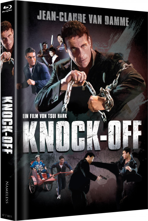 Knock Off - Limited Mediabook Edition - Cover C [Blu-ray+DVD]