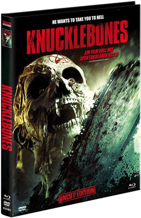 Knucklebones - Limited Mediabook Edition - Cover A [Blu-ray+DVD]