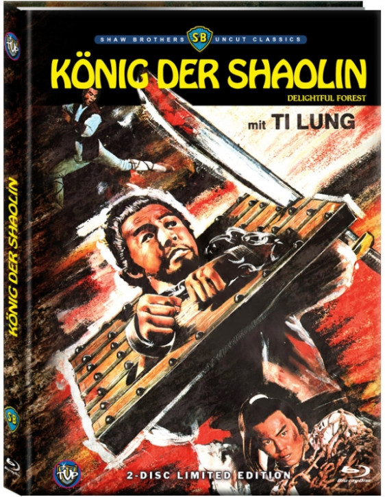 König der Shaolin - Limited Edition- Cover A [Blu-ray+DVD]