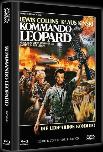 Kommando Leopard - Limited Collector's Edition [Blu-ray+DVD]