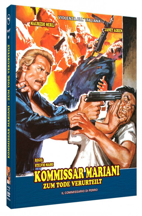 Kommissar Mariani - Zum Tode verurteilt - Mediabook - Cover A [Blu-ray+DVD]