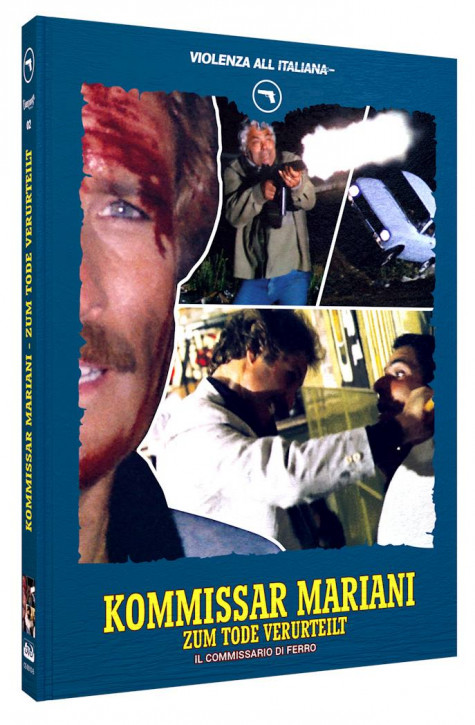 Kommissar Mariani - Zum Tode verurteilt - Mediabook - Cover B [Blu-ray+DVD]