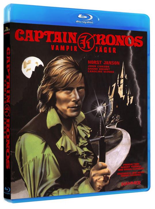 Captian Kronos - Vampirjäger [Blu-ray]