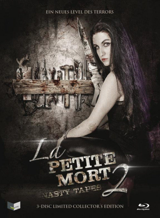La Petite Mort 2: Nasty Tapes - Limited Collectors Edition - Cover C [Blu-ray+DVD]