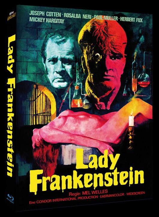 Lady Frankenstein - Mediabook - Cover A [Blu-ray]