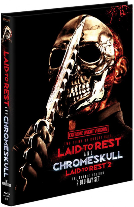Laid to Rest 1 & 2 Chromeskull - Limited Mediabook [Blu-ray]