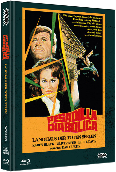 Landhaus der Toten Seelen - Limited Collector's Edition - Cover C [Bluray+DVD]