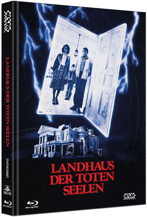 Landhaus der Toten Seelen - Limited Collector's Edition - Cover D [Bluray+DVD]