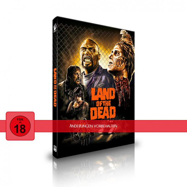 Land of the Dead - Limited Mediabook Edition - Cover A [Blu-ray+CD]