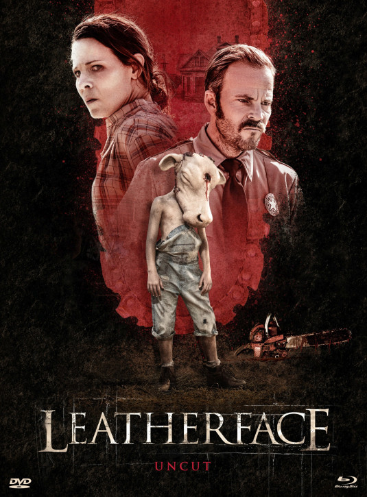 Leatherface - Limited Mediabook Edition - Cover A [Blu-ray+DVD]