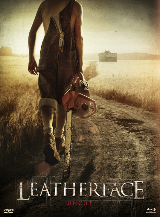 Leatherface - Limited Mediabook Edition - Cover B [Blu-ray+DVD]