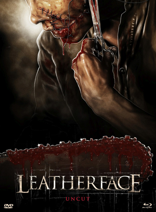 Leatherface - Limited Mediabook Edition - Cover C [Blu-ray+DVD]