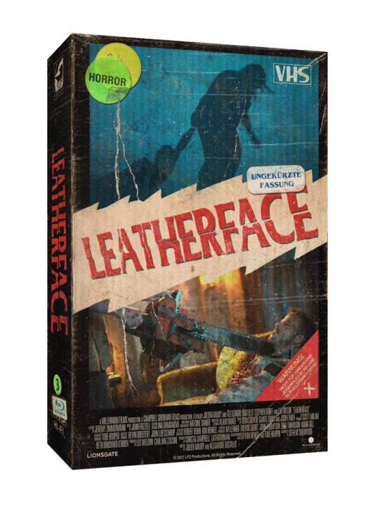 Leatherface - Limited Collectors Edition im VHS-Design [Blu-ray]