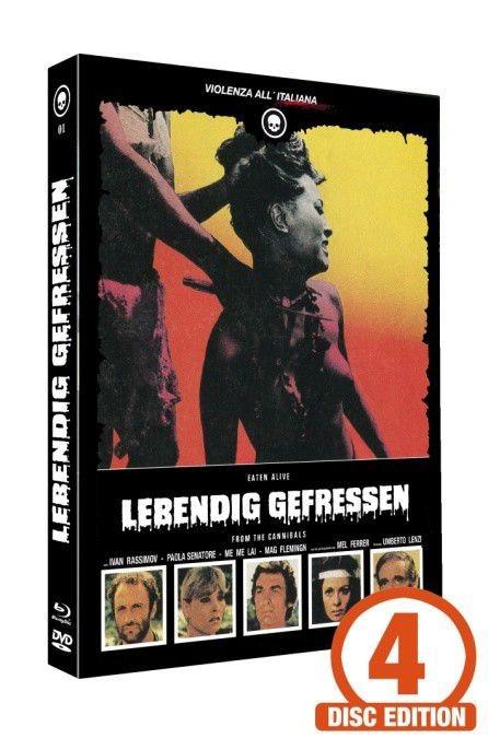 Lebendig gefressen - Mediabook - Cover B [Blu-ray+DVD+CD]