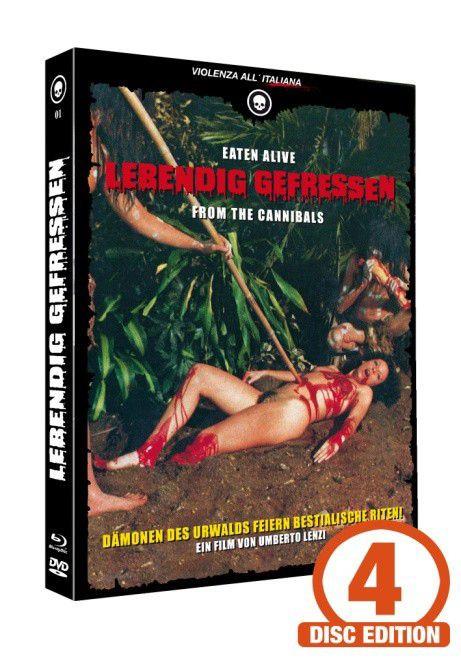 Lebendig gefressen - Mediabook - Cover C [Blu-ray+DVD+CD]