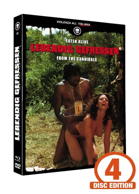 Lebendig gefressen - Mediabook - Cover D [Blu-ray+DVD+CD]