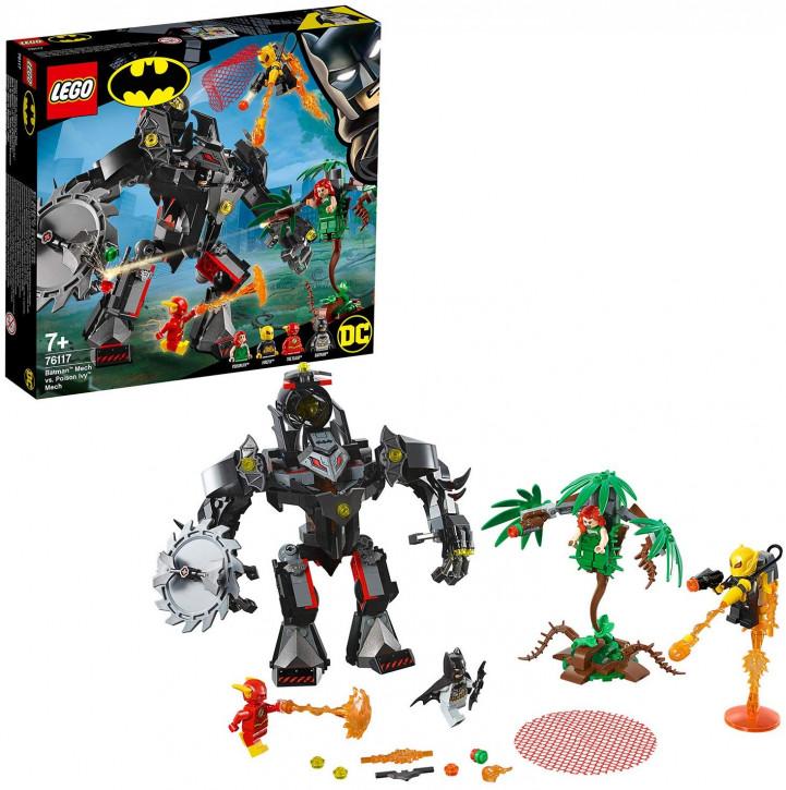LEGO Batman 76117 - Batman Mech vs. Poison Ivy Mech