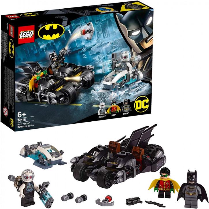 LEGO Batman - 76118 Mr. Freeze Batcycle Battle