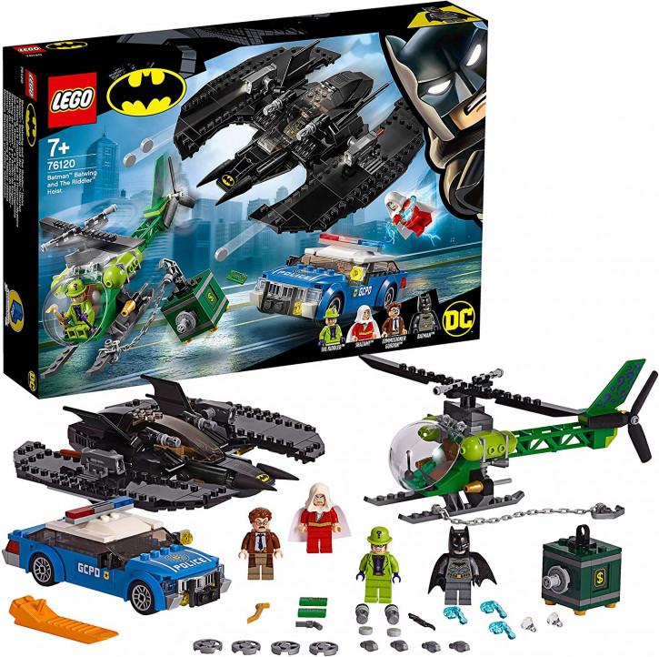 LEGO Batman 76120 - Batwing und der Riddler-Überfall