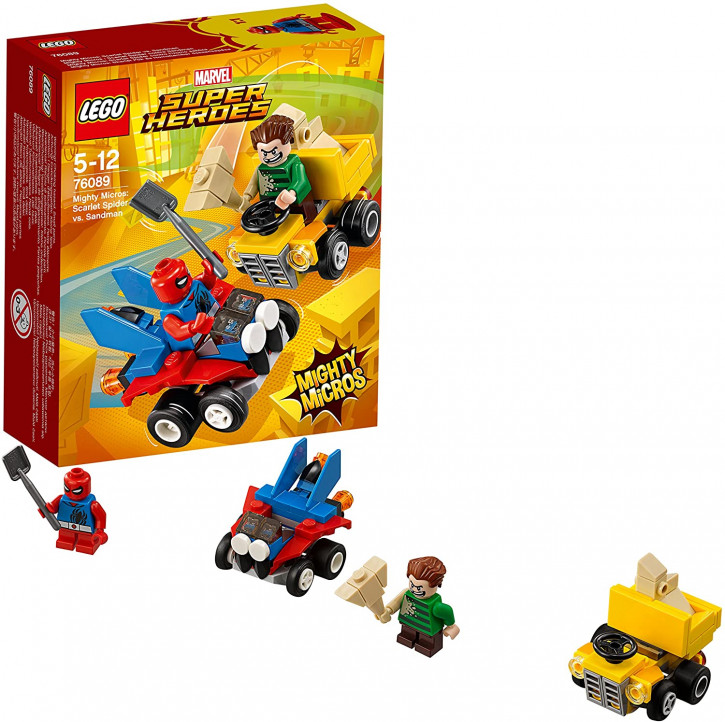 LEGO DC Super Heroes 76089 - Mighty Micros: Spider-Man vs. Sandman