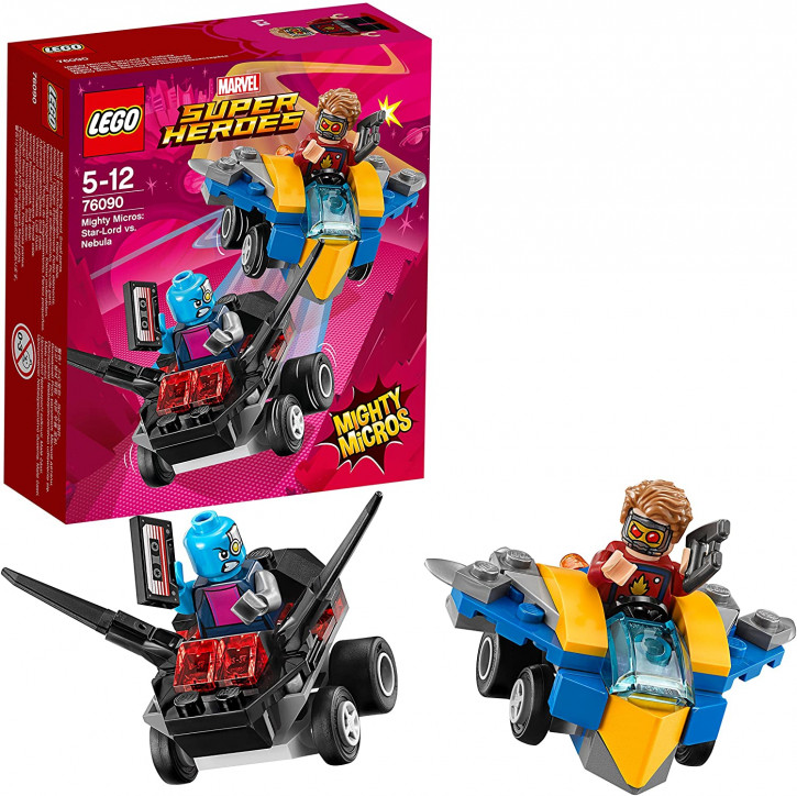 LEGO Marvel Super Heroes 76090 - Mighty Micros: Star-Lord vs. Nebula