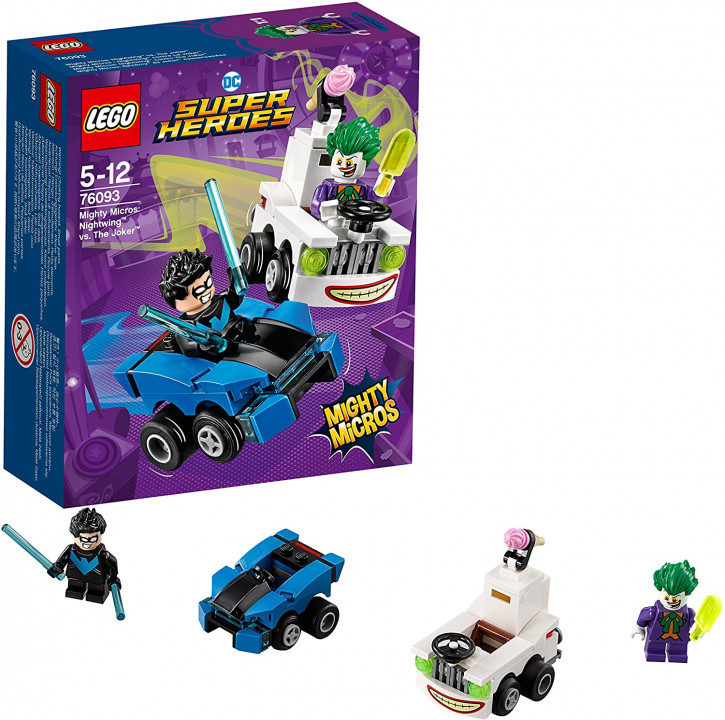 LEGO DC Super Heroes 76093 - Mighty Micros: Nightwing vs. The Joker