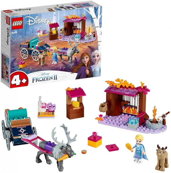 LEGO Disney 41166 - Elsa und die Rentierkutsche